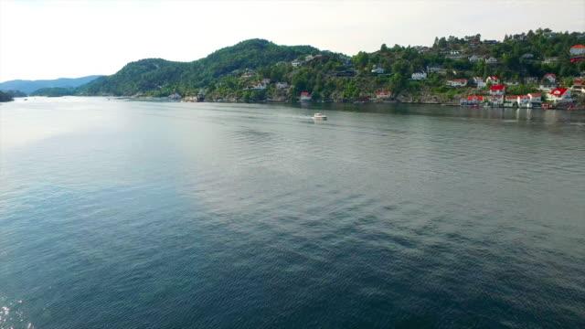 enjoying watersports on kragero harbor - telemark stock videos and b-roll footage