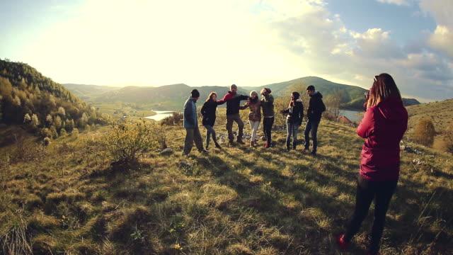 Enjoyment on the mountain
