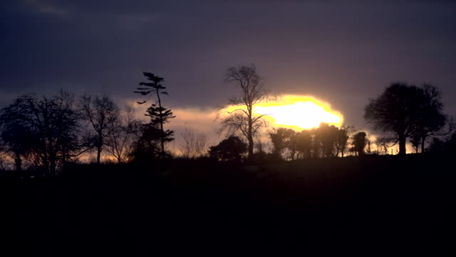 enniskillen at sunrise and sunset - ethereal stock videos & royalty-free footage