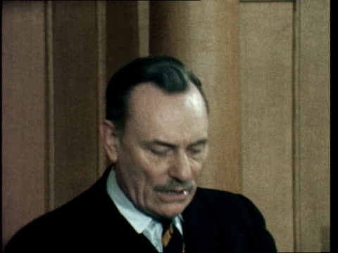 london church hse sof 'i do not believeover real issues' ms audience ls powellsof 'i recant nothingof that moment' - enoch powell stock videos & royalty-free footage