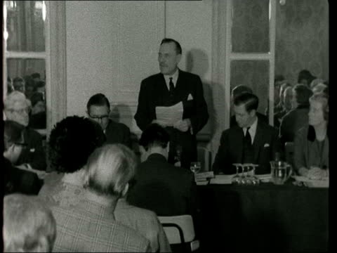 enoch powell warning on race relations gauntlet birmingham enoch powell speaking cms powell sof in fifteen or twenty years immigrants and their... - enoch powell stock videos & royalty-free footage