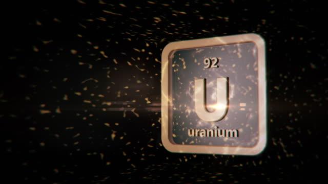 angereichertes uran kann die welt durch atombombe zerstören - massenvernichtungswaffe stock-videos und b-roll-filmmaterial