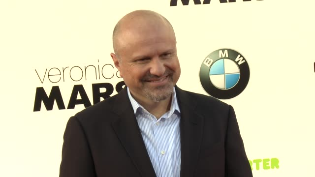 enrico colantoni at veronica mars los angeles premiere at tcl chinese theatre on march 12 2014 in hollywood california - tcl chinese theatre stock videos & royalty-free footage