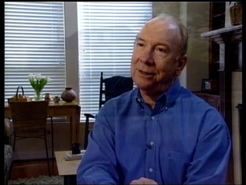 Accounting scandals ITN USA Texas Houston Office buildings Enron logo Mercedes car large houses INT George Strong interviewed SOT Living the good...