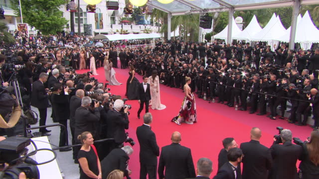 <<enter caption here>> at grand theatre lumiere on may 10 2018 in cannes france - 71st international cannes film festival stock videos & royalty-free footage