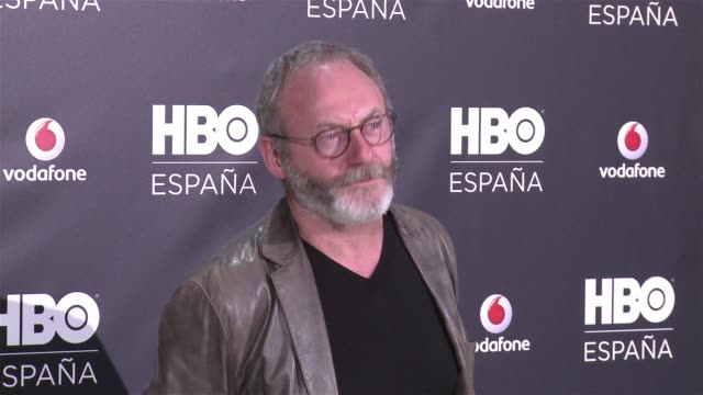 <<enter caption here>> on december 15 2016 in madrid spain - liam cunningham stock videos & royalty-free footage