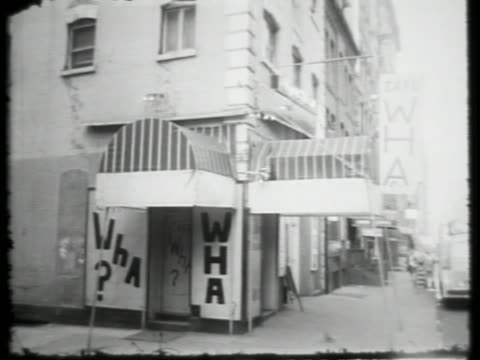 <<enter caption here>> on january 01, 1964 in new york city. - greenwich village stock videos & royalty-free footage