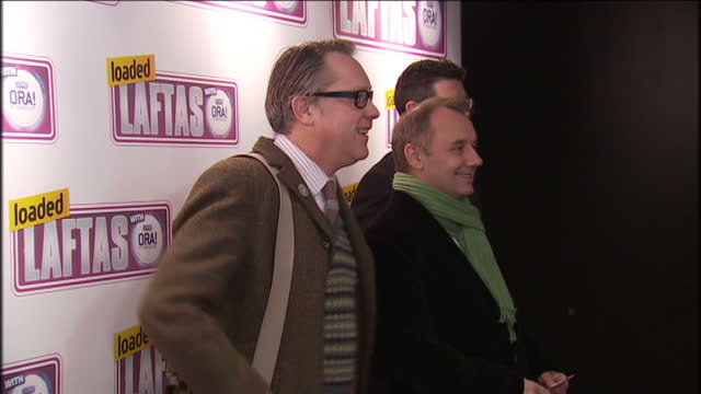 vídeos de stock, filmes e b-roll de <<enter caption here>> on january 27, 2010 in london, england. - vic reeves