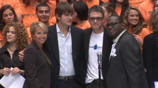 Entertainment Industry Foundation Kicks Off Volunteer Initiatives New York NY United States 09/10/09