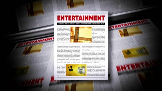 entertainment news - magazine stock videos & royalty-free footage