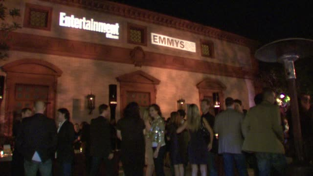 entertainment weekly 6th annual pre-emmy party at los angeles ca. - エンターテインメント・ウィークリー点の映像素材/bロール