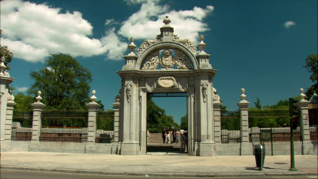 WS Entrance gate to Retiro Park, Madrid, Spain