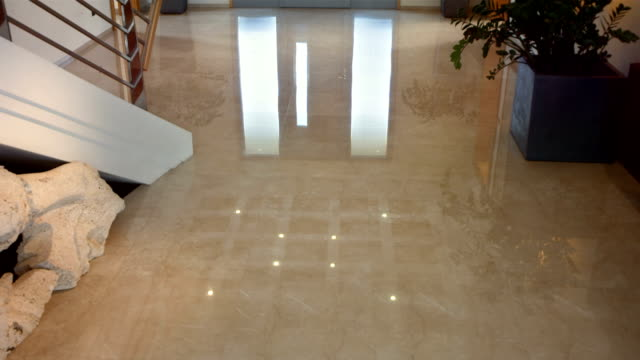 HD: Entrance Hall With Marble Floor
