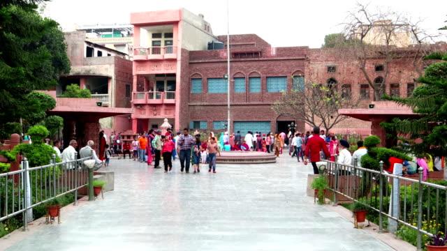 ジャリアンワラ・バグ殉教者記念館の入り口、アムリトサル・インド - 大量殺人点の映像素材/bロール