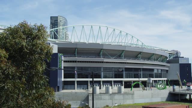 Entrance of the Etihad Stadium, Melbourne, Victoria, Australia