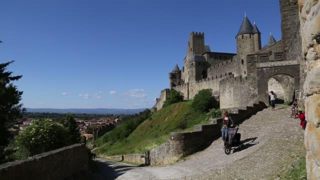 Entrance to Cité de Carcassonne