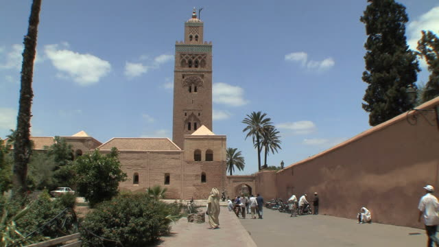 WS PAN Entrance to Koutoubia Mosque, Marrakech, Morocco