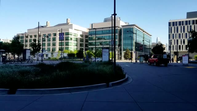 entrance to main hospital at mission bay medical center of the university of california san francisco san francisco california may 2 2019 - building entrance stock videos & royalty-free footage
