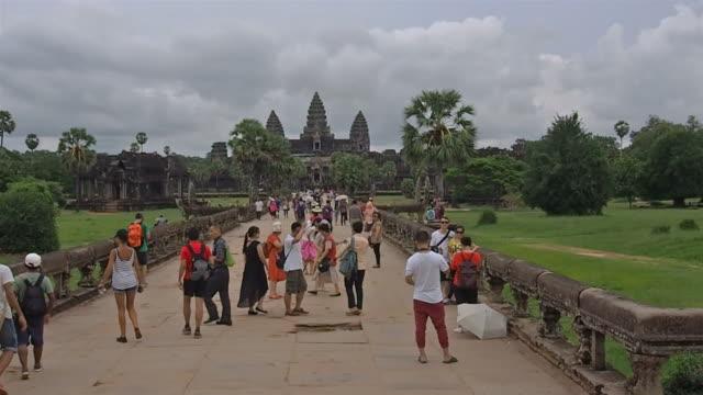 Entrance to the Angkor Wat