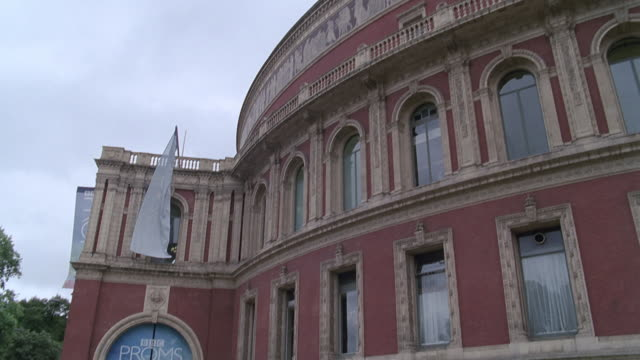 td entrance to the royal albert hall during the bbc proms / london, england, united kingdom - royal albert hall stock videos & royalty-free footage