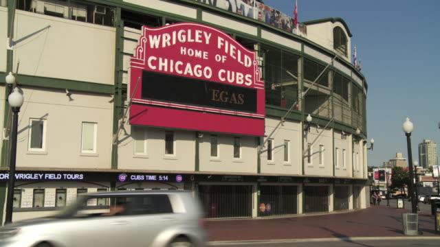 WS entrance to Wrigley Field / Chicago, Illinois, USA