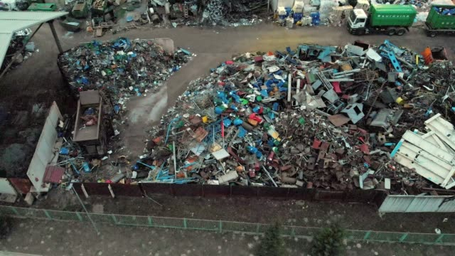 environment issues - waste disposal dupm - landfill stock videos & royalty-free footage