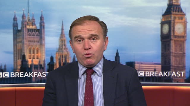 environment secretary george eustice saying the government will work with key industry sectors to work out which workers are exempt from covid... - information equipment stock videos & royalty-free footage