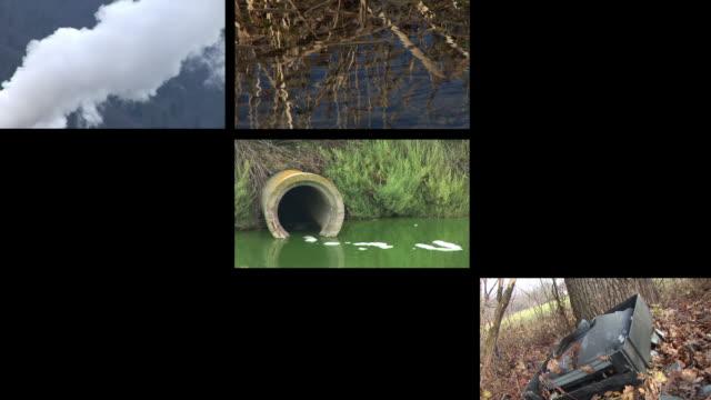 HD LOOP MONTAGE: Environmental Damage