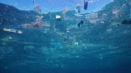Environmental Issue Plastic in the Ocean