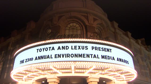 environmental media awards presented by toyota & lexus at warner bros. studios in burbank, ca on 10/19/13 in burbank, ca . - environmental media awards stock videos & royalty-free footage