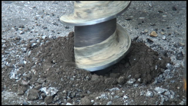(HD1080i) Environmental Soil Drilling
