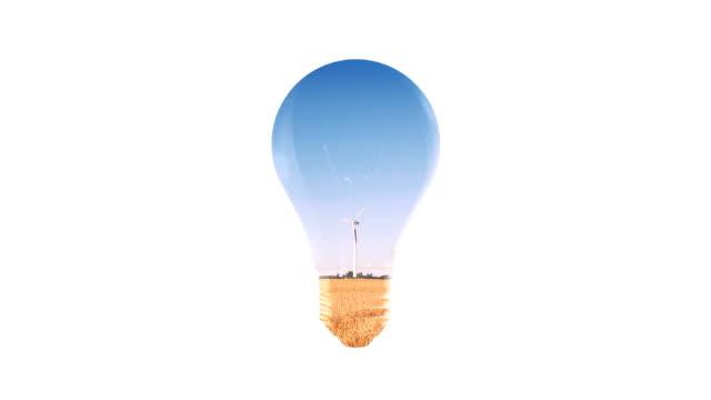 environmentally friendly lightbulb - energy efficient lightbulb stock videos & royalty-free footage