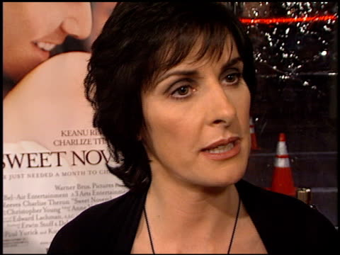 Enya at the 'Sweet November' Premiere at the Bruin Theatre in Westwood California on February 12 2001