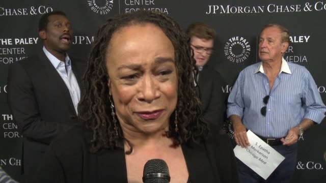 INTERVIEW S Epatha Merkerson on being at the event tonight and diversity in TV at The Paley Center For Media's Tribute To AfricanAmerican...