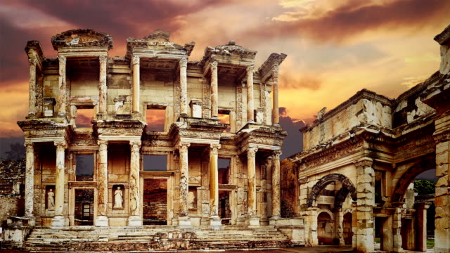 ephesus - statuetta video stock e b–roll