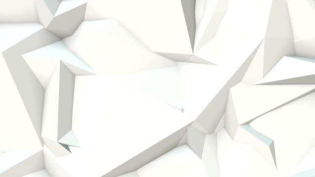 epische abstrakten geometrischen dreieck hintergrund endlos wiederholbar a1 - grau stock-videos und b-roll-filmmaterial