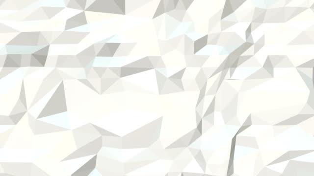 epische abstrakten geometrischen dreieck hintergrund endlos wiederholbar a6 - grau stock-videos und b-roll-filmmaterial