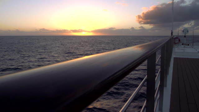 Epic Sunset from the Deck of a Ship 1