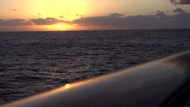 Epic Sunset from the Deck of a Ship 2