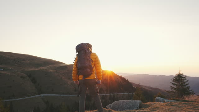 epic view and fresh mountain air! - epic film stock videos & royalty-free footage
