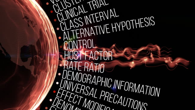 epidemiology terms - epidemiology stock videos & royalty-free footage