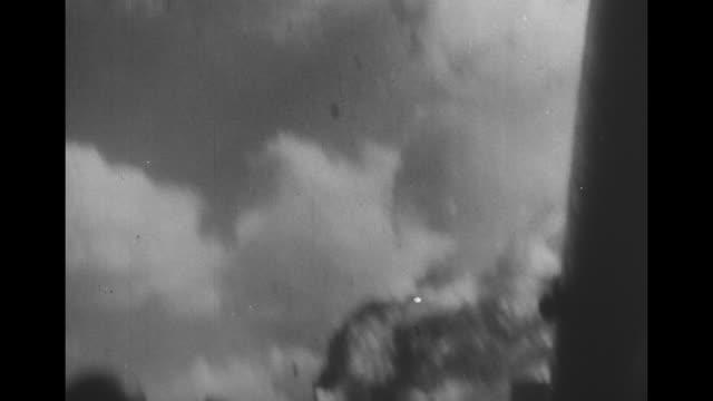 "episode z-03] greatest headlines of the century title sequence / title card: ""kamikazes strike terror"" / [sept. 1944, japan] vs japanese emperor... - samurai stock videos & royalty-free footage"