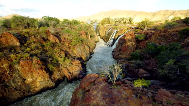 HELI Epupa Falls Created By The Kunene River