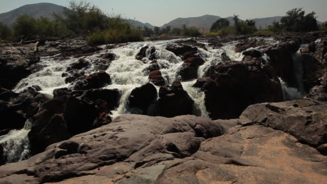 Epupa Falls in Namibia from atop.