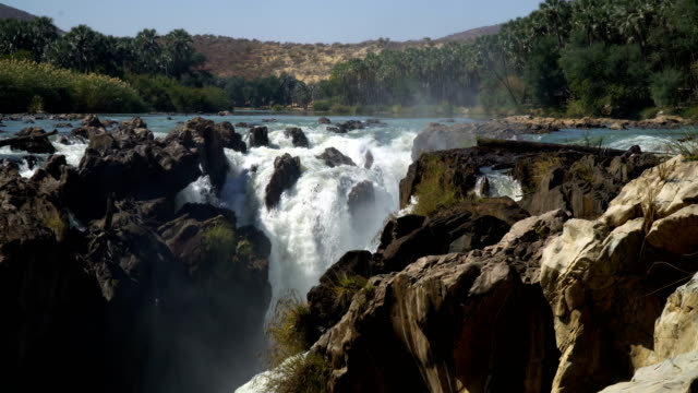 Epupa Falls on the Kunene River, Namibia
