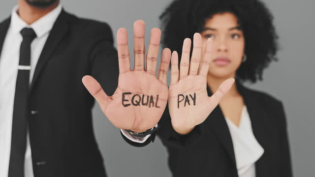 equal work, equal pay - local politics stock videos & royalty-free footage
