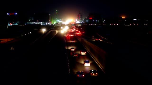 erbil - irak road i natt - irak bildbanksvideor och videomaterial från bakom kulisserna