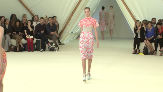 London Fashion Week Spring/Summer 2013 on September 17 2012 in London England