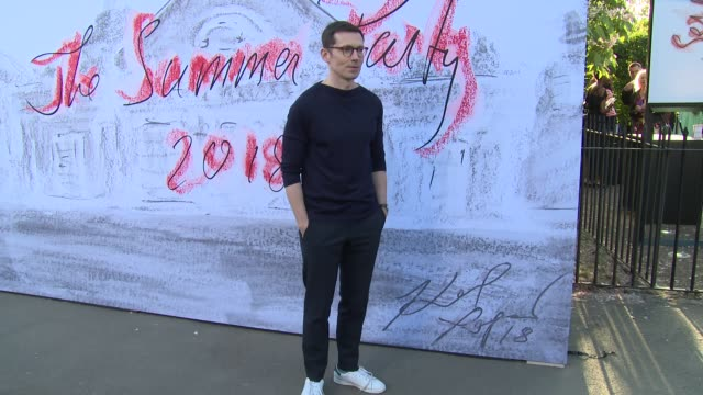Erdem Moralioglu at The Serpentine Gallery on June 19 2018 in London England