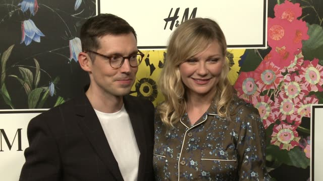 Erdem Moralioglu Kirsten Dunst at HM x ERDEM Runway Show Party at The Ebell Club of Los Angeles on October 18 2017 in Los Angeles California